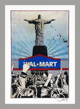 Load image into Gallery viewer, DENIAL 'Wal-Martyr' (mini) Giclée Print