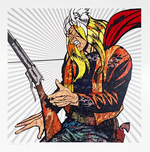 DILLON BOY 'Hammer of God' (Thor) Lithograph Print