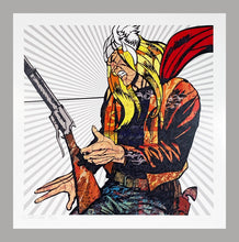 Load image into Gallery viewer, DILLON BOY 'Hammer of God' (Thor) Lithograph Print