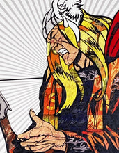 Load image into Gallery viewer, DILLON BOY 'Hammer of God' (Thor) Western Graffiti series - Signari Gallery