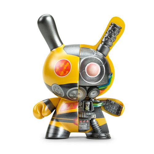DOLLY OBLONG 'Dairobo-B' (yellow) DUNNY Vinyl Art Figure