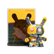 Load image into Gallery viewer, DOLLY OBLONG 'Dairobo-B' (yellow) DUNNY Vinyl Art Figure