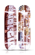 Load image into Gallery viewer, DONDI WHITE 'Dondi CIA'+ 'Dondi BMT' Skateboard Deck Set