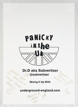 Load image into Gallery viewer, DR. D 'Panicky in the UK' Lithograph