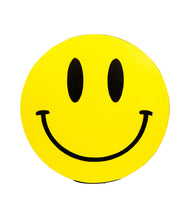 Load image into Gallery viewer, DR. D 'Acid House Smiley: Governor' Hand-Painted Woodcut