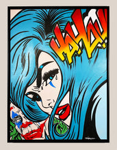 Load image into Gallery viewer, DVERSO 'Joker: Laugh or Cry' Original on Canvas Framed - Signari Gallery