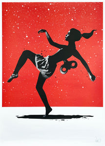 EELUS 'Wound Up and Let Loose' Screen Print