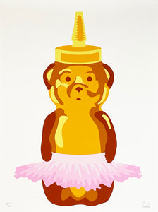 FNNCH 'Ballet Bear' Archival Pigment Print (162)