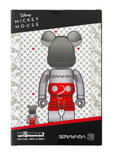 Load image into Gallery viewer, HAJIME SORAYAMA x Be@rbrick 'Future Mickey' Art Figure Set