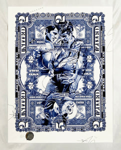 HANDIEDAN 'In the Treasure of Time' (blue) Giclée Print