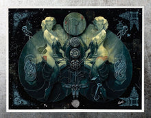 Load image into Gallery viewer, HANDIEDAN 'Triade' Giclée Print + Augmented Reality