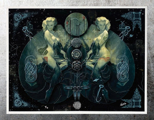 HANDIEDAN 'Triade' Giclée Print + Augmented Reality