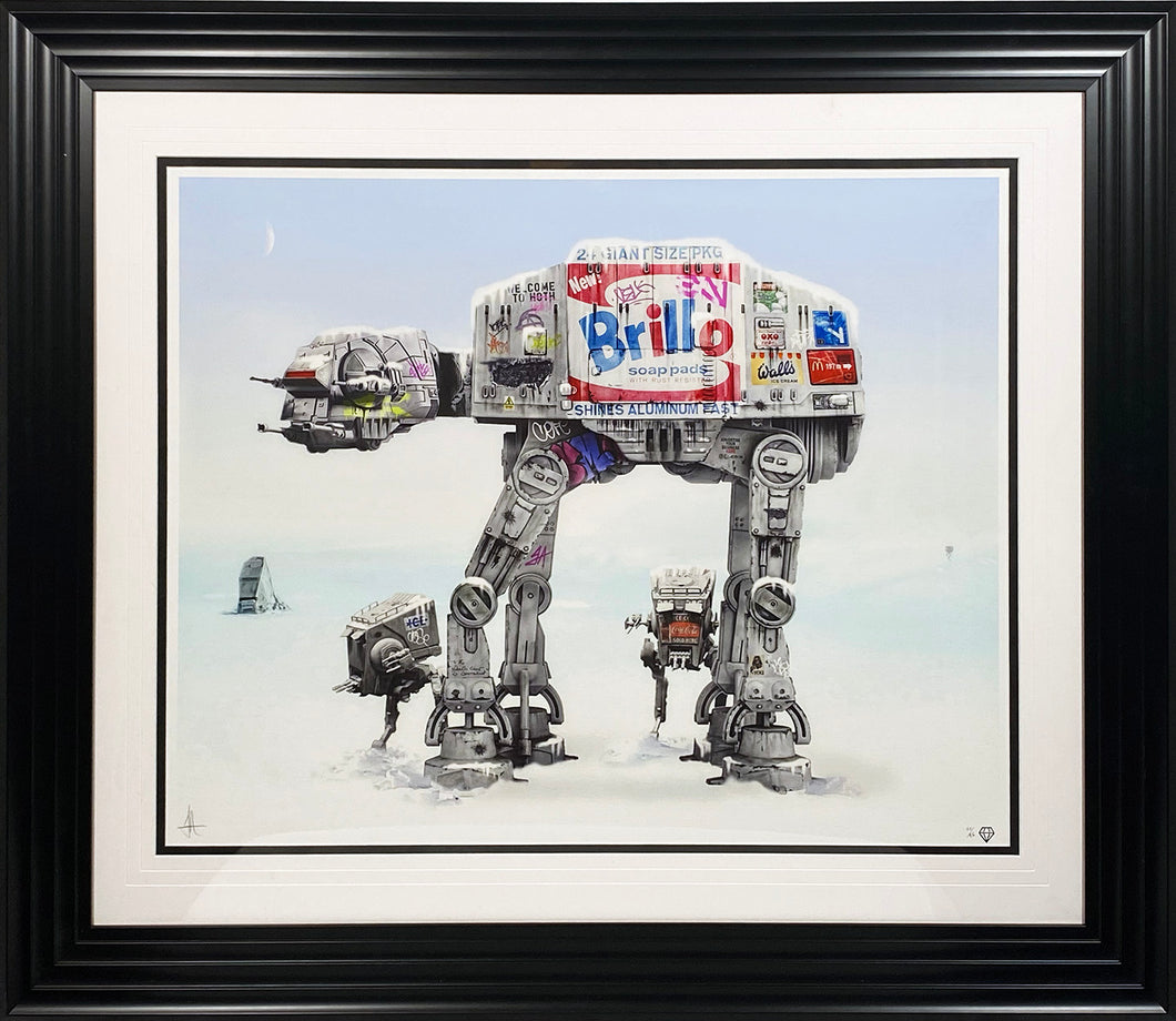 JJ ADAMS 'Imperial Walkers' Giclee Print Framed - Signari Gallery