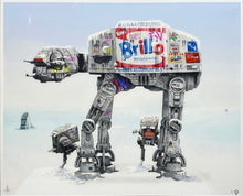 Load image into Gallery viewer, JJ ADAMS 'Imperial Walkers' Giclee Print Framed - Signari Gallery
