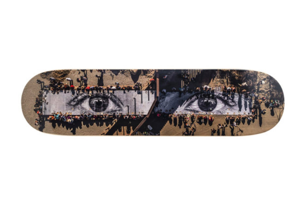 JR 'Migrants, Picnic Across the Border' Skateboard Deck
