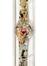 Load image into Gallery viewer, JACKSON POLLOCK x MOMA 'White Light' Watch w/Case