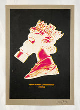Load image into Gallery viewer, JAMES CAUTY 'Queen of Mass Contamination: PN' Screen Print