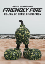 Load image into Gallery viewer, JASON FREENY 'Friendly Fire' (Weapon of Mouse Destruction) Art Figure
