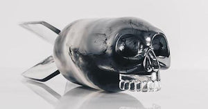 JASON FREENY 'Skull Bomb' (Phantom Ed.) Art Toy