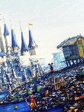 Load image into Gallery viewer, JEFF GILLETTE 'Castle Slum' Giclée Print on Wood