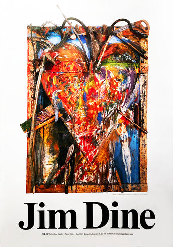JIM DINE 'Wetterling Gallery Exhibition' 2006-2007 Lithograph - Signari Gallery