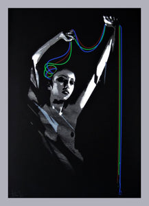 JOHN DOE 'Reflex' (RGB) Screen Print - Signari Gallery