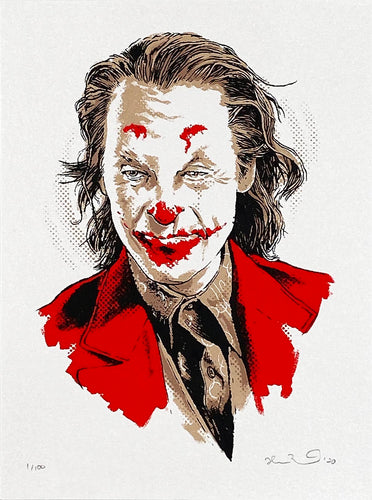 JOSHUA BUDICH 'Mini Joker' Screen Print - Signari Gallery