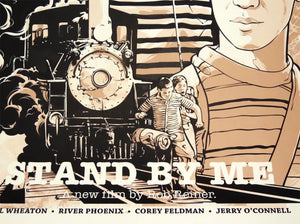 JOSHUA BUDICH 'Stand by Me' Screen Print - Signari Gallery