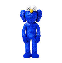 Load image into Gallery viewer, KAWS 'BFF' (blue) Vinyl Art Figure