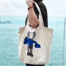 Load image into Gallery viewer, KAWS x Uniqlo 'Gone' Canvas Tote