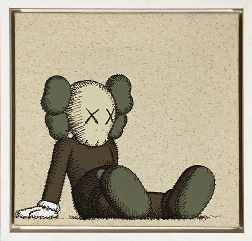 KAWS x Uniqlo 'Holiday: Companion' Framed Canvas Tote