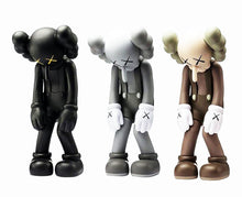 Load image into Gallery viewer, KAWS 'Small Lie' (black) Vinyl Art Figure