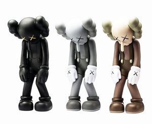 KAWS 'Small Lie' (black) Vinyl Art Figure
