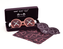 Load image into Gallery viewer, KAWS x S+D 'Sunglasses' (pink) Designer Glasses