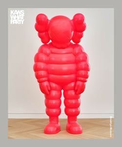 KAWS 'What Party' Exhibit Poster