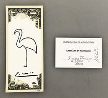 Load image into Gallery viewer, KASH ART 'Pablo Picasso' Original HPM on Currency
