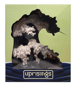 KOZYNDAN 'Uprisings' (black) Vinyl Art Sculpture - Signari Gallery