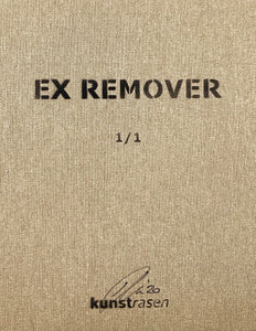 KUNSTRASEN 'Ex Remover (DP)' Original on Canvas