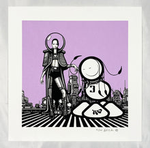 Load image into Gallery viewer, THE LONDON POLICE' 'The Quest for Gold' Screen Print - Signari Gallery