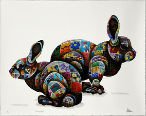 LOUIS MASAI 'That's All Folks' Archival Pigment Print - Signari Gallery