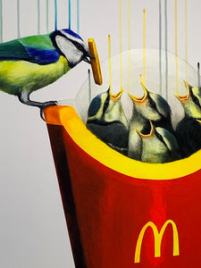 LOUISE McNAUGHT 'Instant Gratification' Giclee Print - Signari Gallery