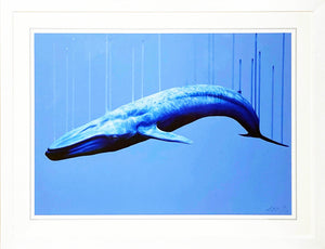 LOUISE McNAUGHT 'True Blue' Giclée Print Framed