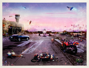 MARK DAVIES 'Destination Unknown (Top Gun)' Giclee Print