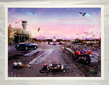 Load image into Gallery viewer, MARK DAVIES 'Destination Unknown (Top Gun)' Giclee Print