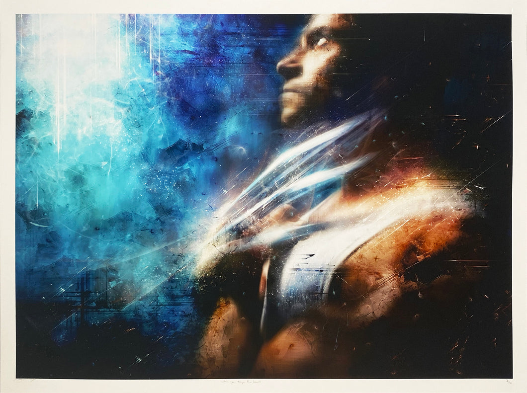 MARK DAVIES 'When You Cage the Beast (Wolverine)' Giclee Print