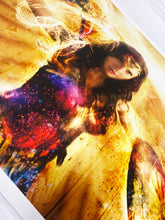 Load image into Gallery viewer, MARK DAVIES 'Thunderbolts of Jove! (Wonder Woman)' Giclee Print