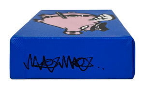 MAU MAU 'Flying Pig' Mini-Pig HPM on Canvas