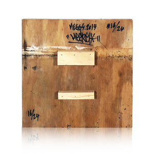 David MEGGS 'From the Ground Up' HPM on Reclaimed Wood - Signari Gallery