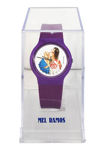 MEL RAMOS 'Miss Chaos' Vintage Watch w/Display