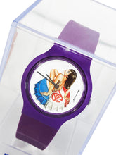 Load image into Gallery viewer, MEL RAMOS 'Miss Chaos' Vintage Watch w/Display